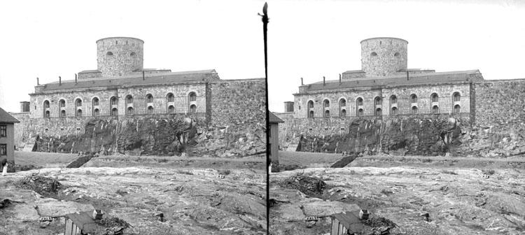 28 Juli 1901. Marstrands Fästning (Stereo karta III)