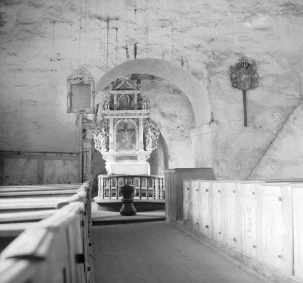 (Stereo karta) Mot altaret. 20 Juni 1926.