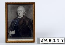 Bronserad ram [Målning Jöns Koch, rådman i Uddevalla ]