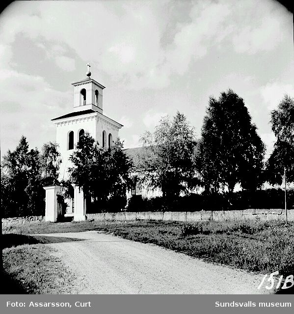 Kyrkan i Ljustorp.