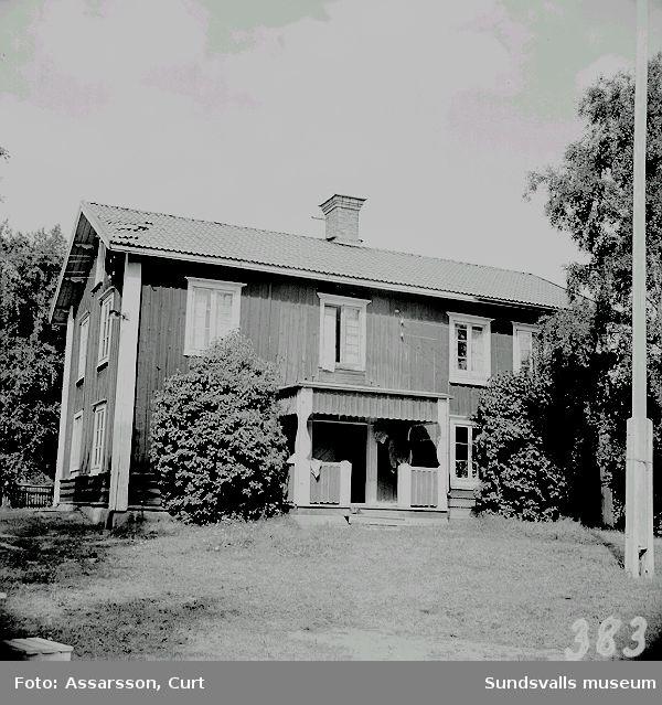 Hegners mangårdsbyggnad i Berga, Njurunda.