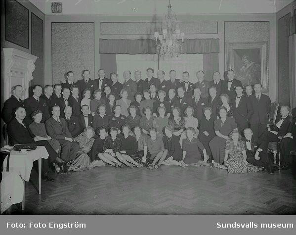 Poliskårens årsfest 1942.