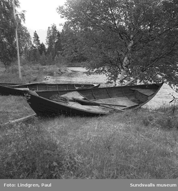Reportage. Tre drunknade i Holmsjön.