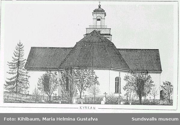Sundsvalls gamla kyrka, Lovisa Ulrika.