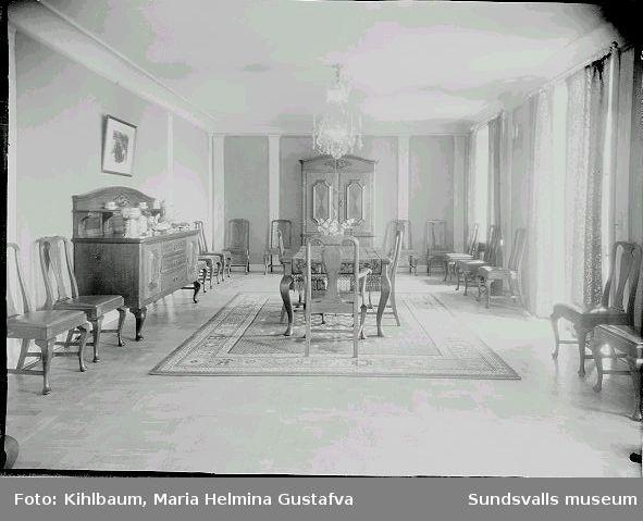 Interiör från Villa Wallerstedt.