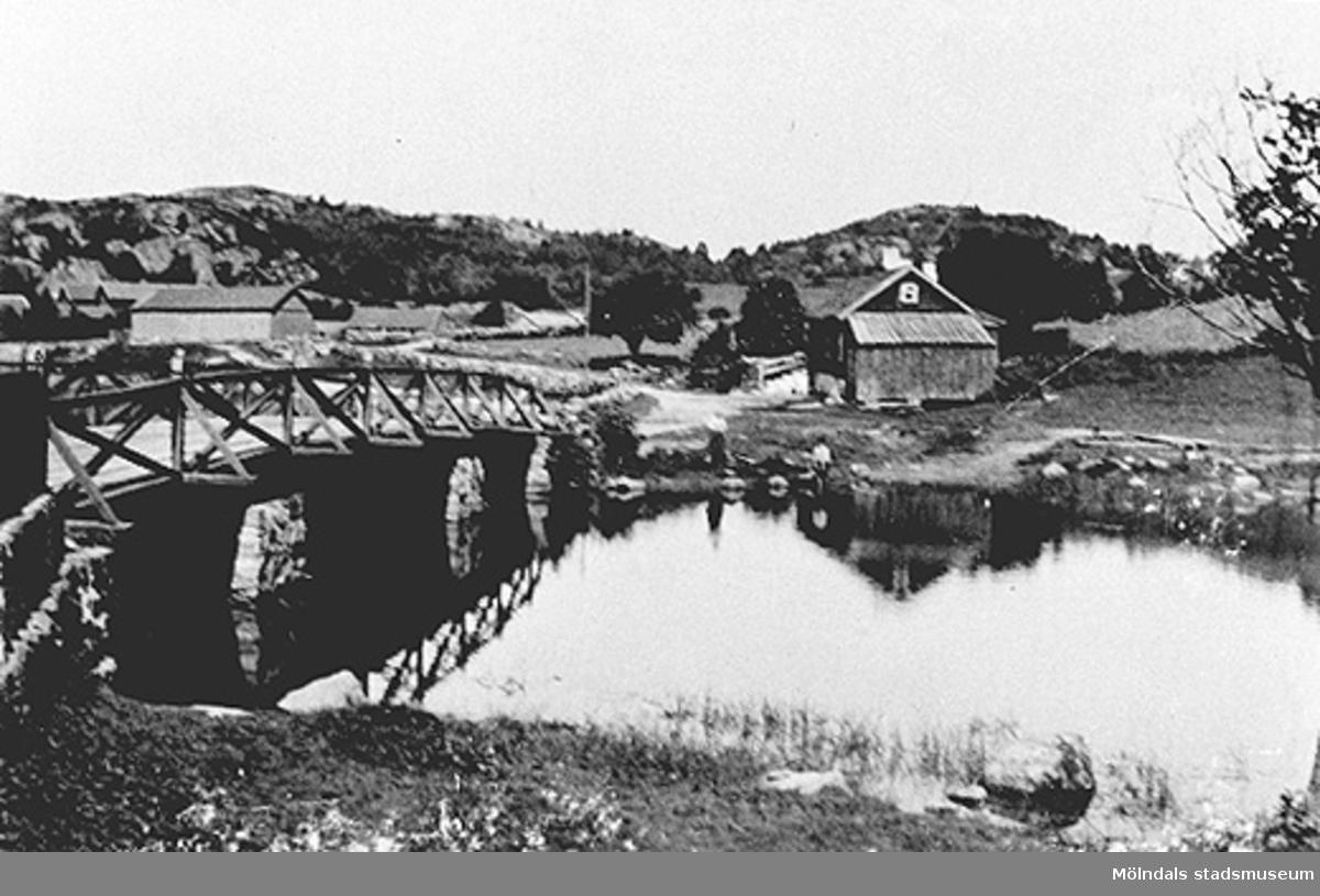Stensjö brygga i juli 1894.