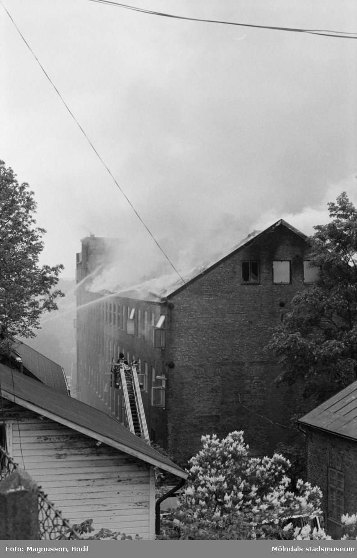Soab-branden i Stora Götafors den 4 juni 1986.