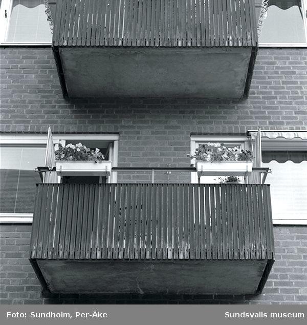 Inventering av 1940- och 50-talsområden. Skolhusallén 13.