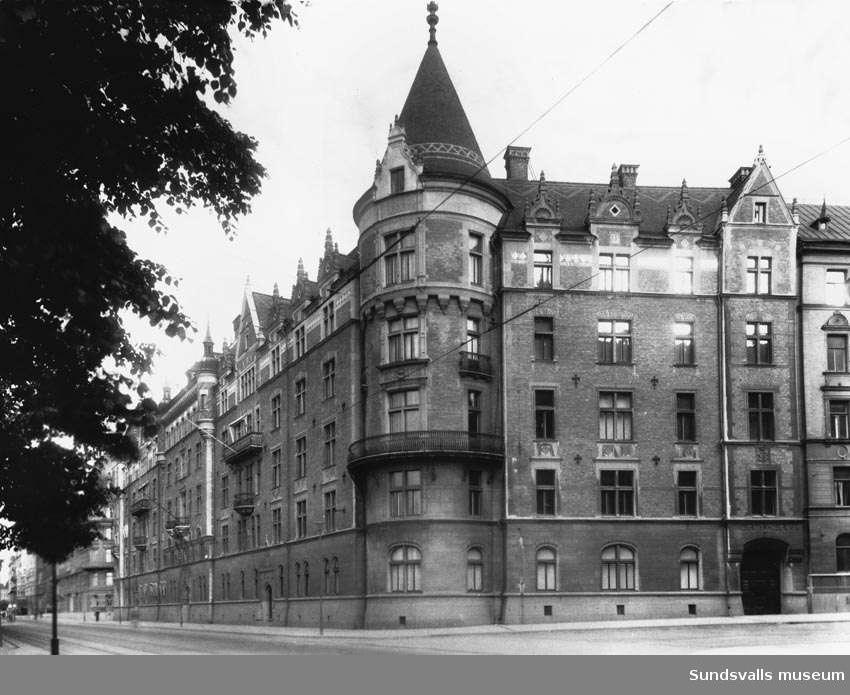 Bünsows Strandvägsfastighet i Stockholm.