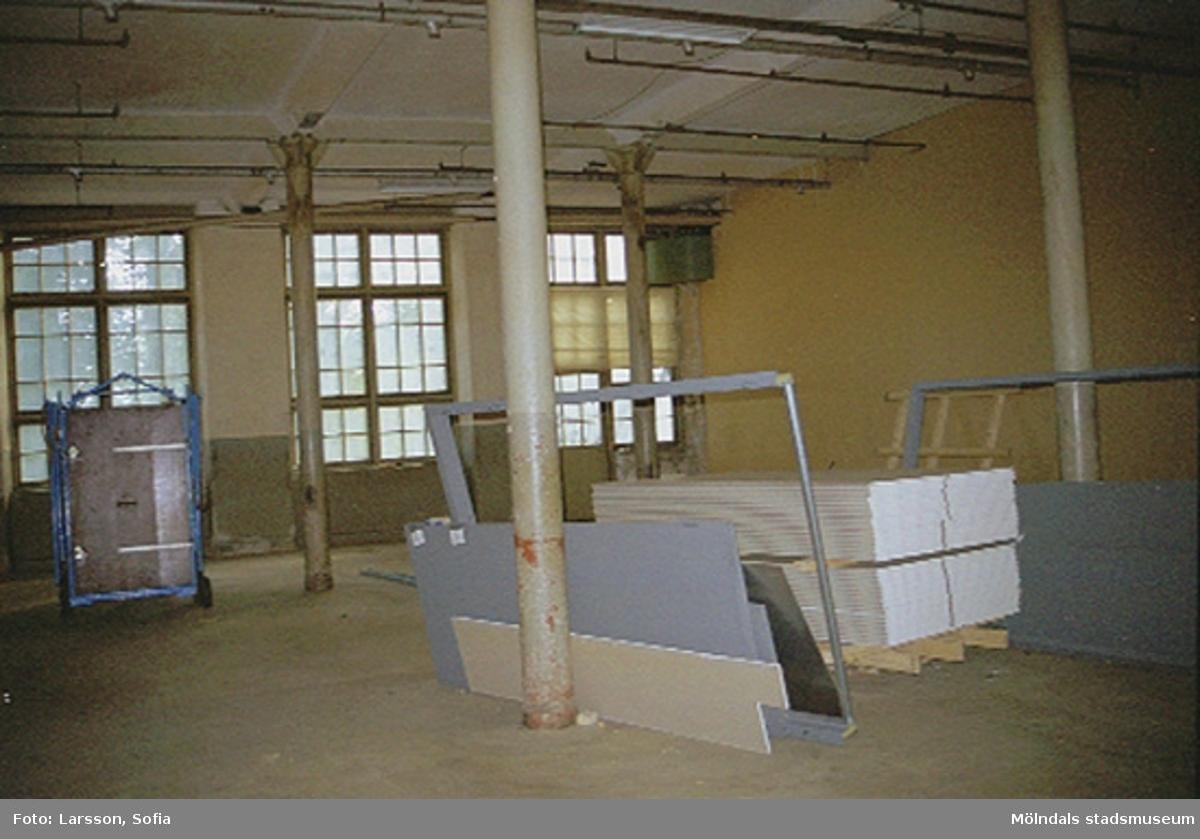 Werners fabriker, interiör 2001-10-23. Hör ihop med: 2002_0455 - 0468.