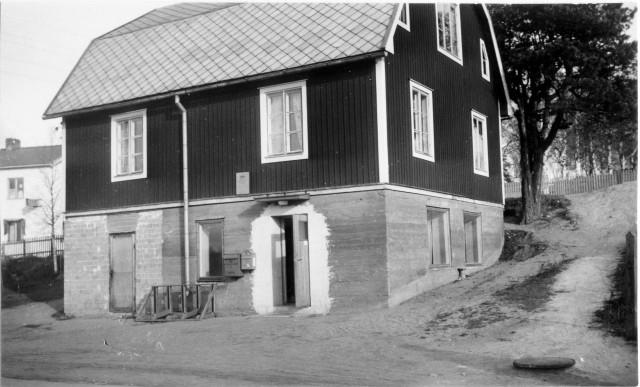 Sundsvalls postområde. Selånger posstation, exteriör.