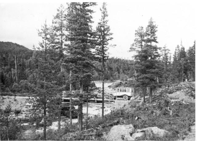 Linjerna Sollefteå - Strömsund - Jormlien - Ankarede. Storån, Lidsjöberg.