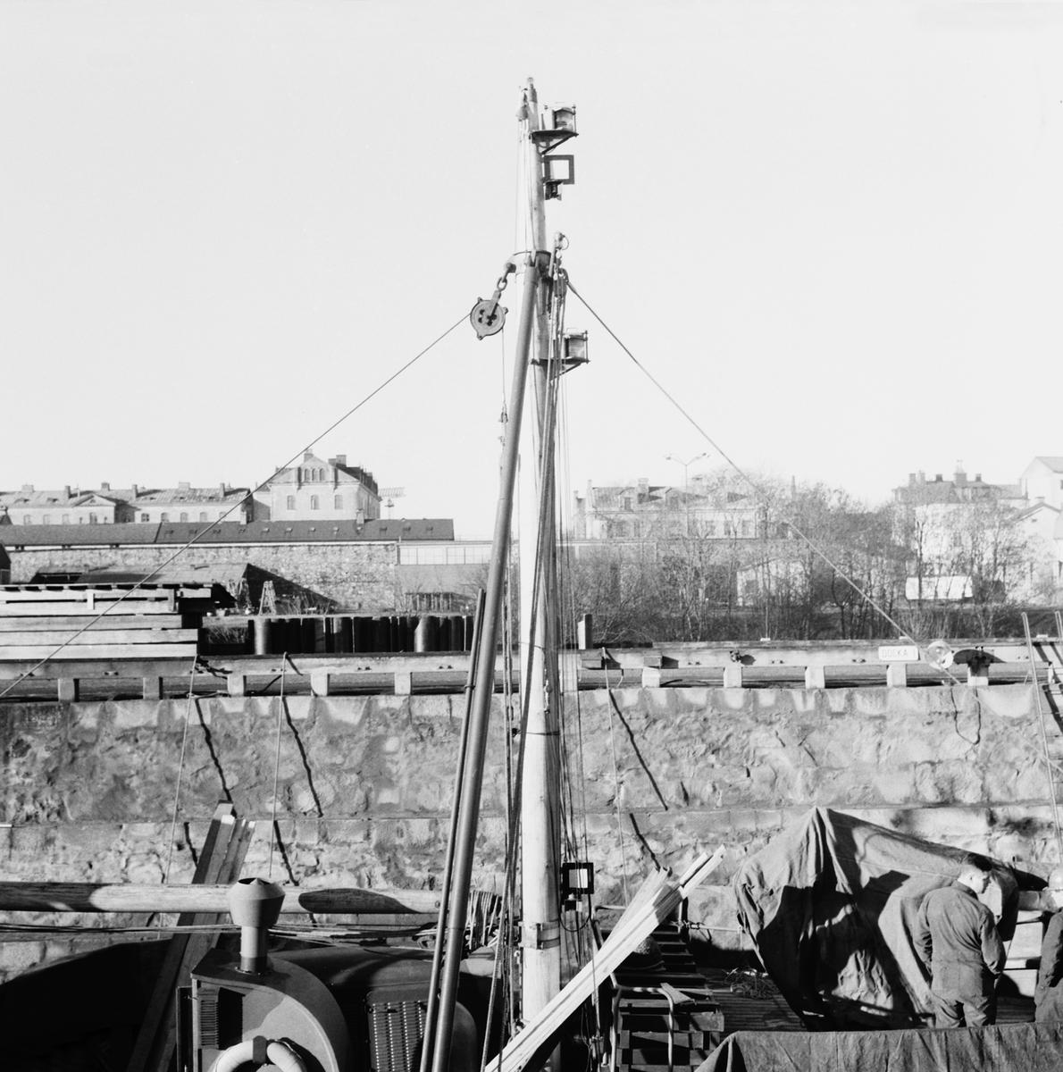 Fartyg: GALTEN                          Övrigt: Interiör, minsveparen Galten