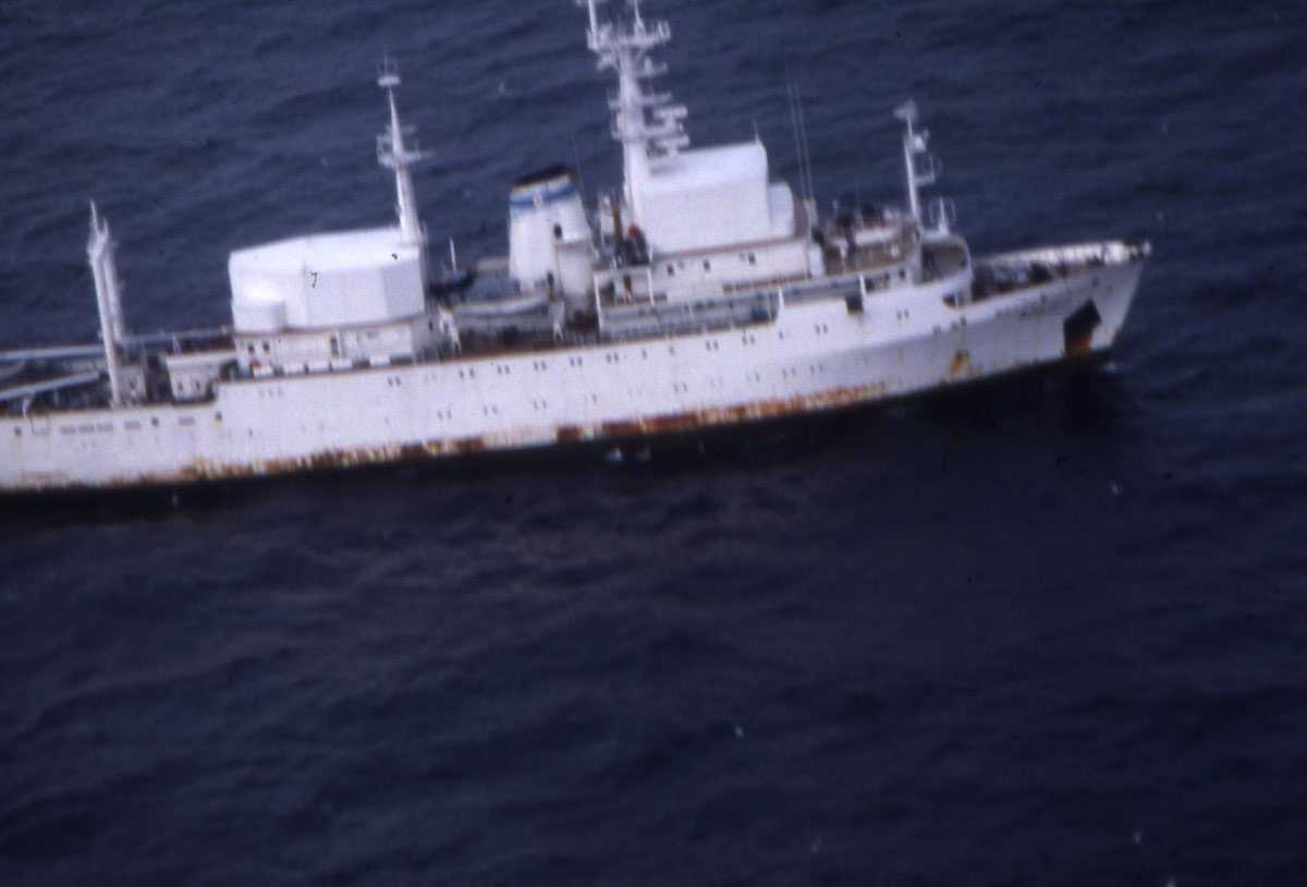 Russisk fartøy av Primorye - klassen.