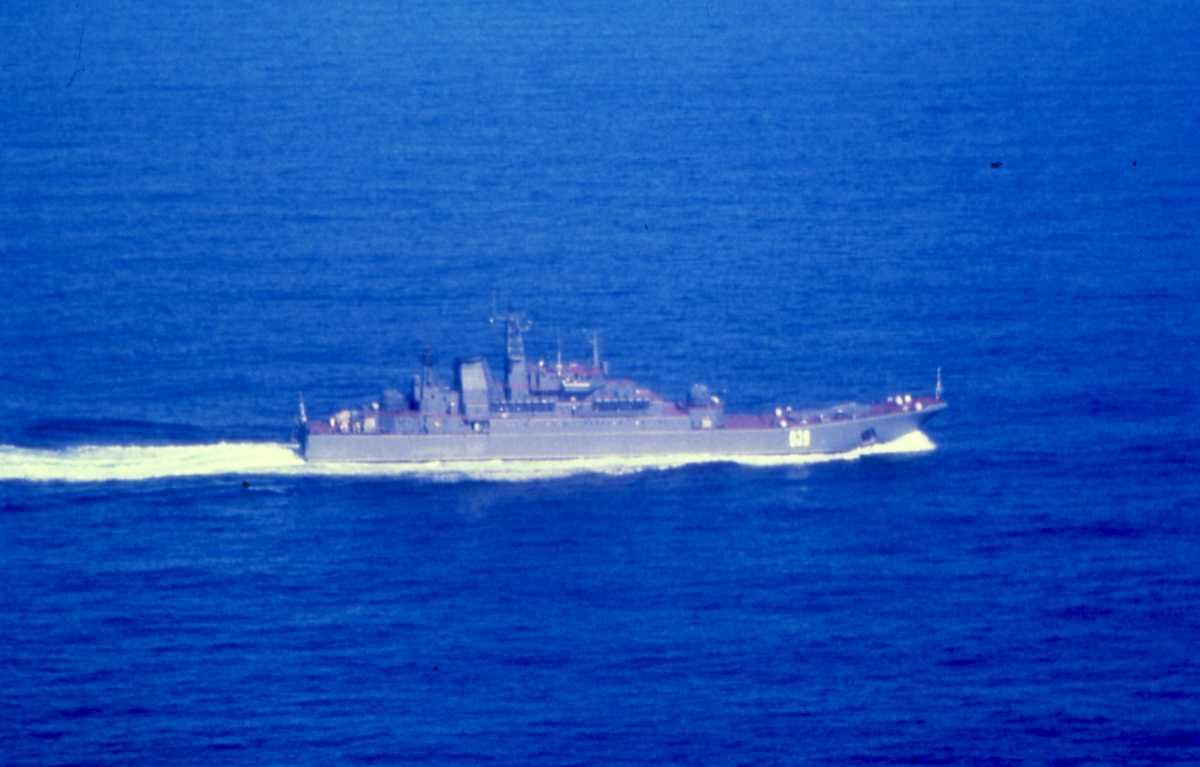 Russisk fartøy av Ropucha - klassen med nr. 039.