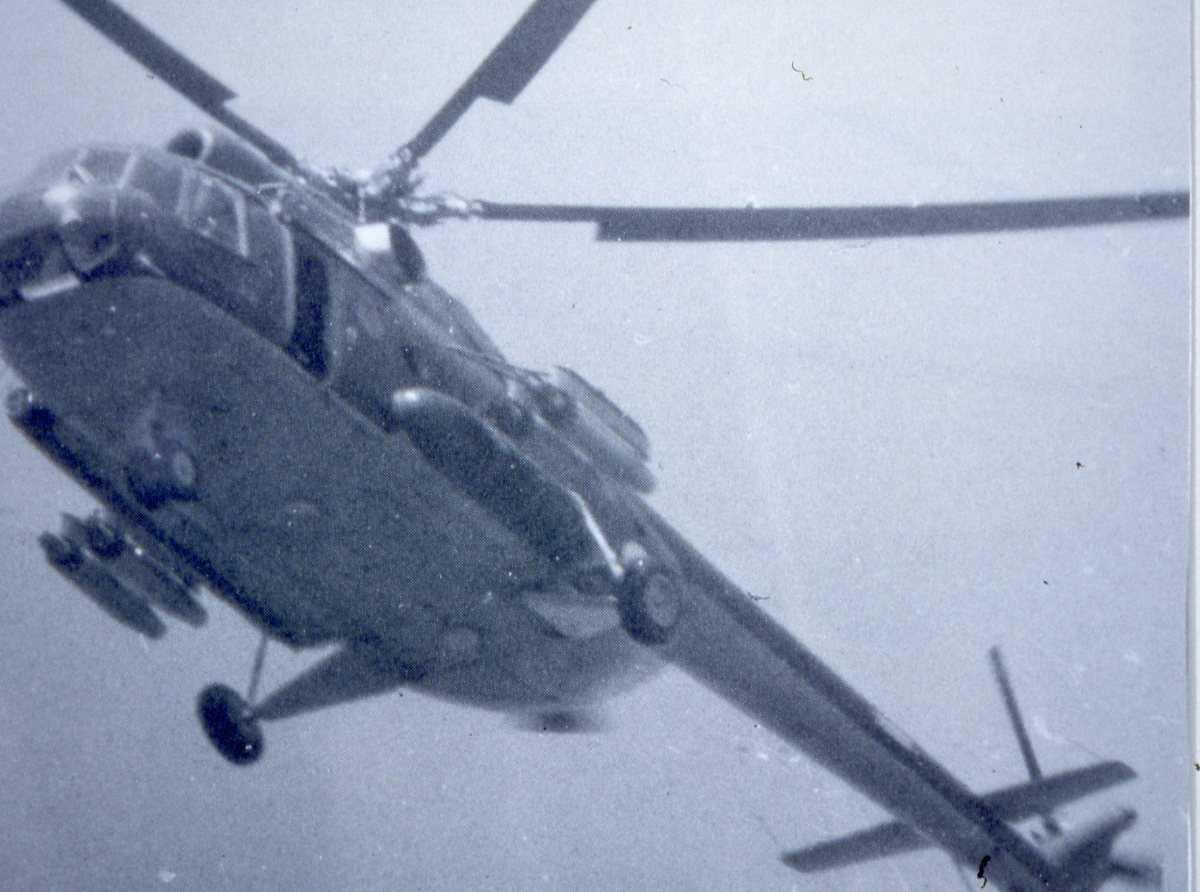 Russisk helikopter av typen Mil Mi-8T Hip C.