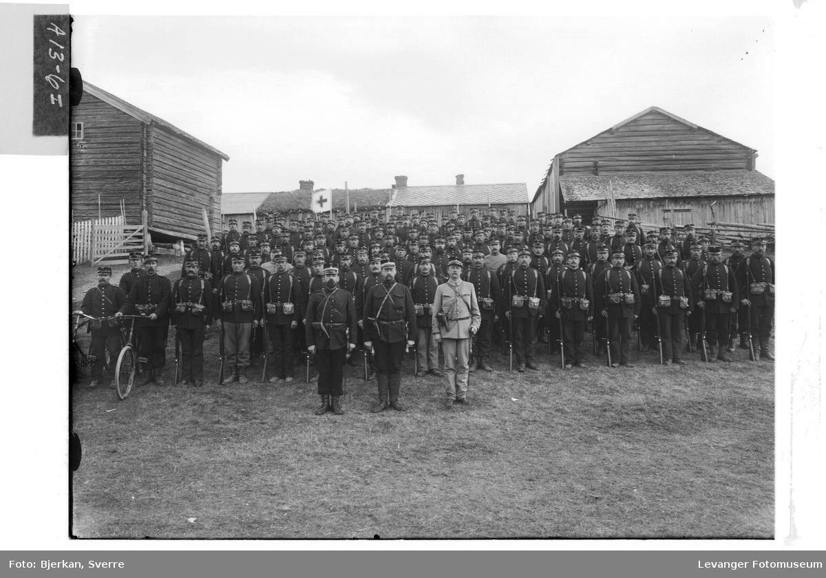 Bilder fra mobliseringen Rinnleiret høsten 1905 I