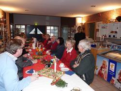 Juleavslutning på Berg-Kragerø Museum  med vennene, ansatte