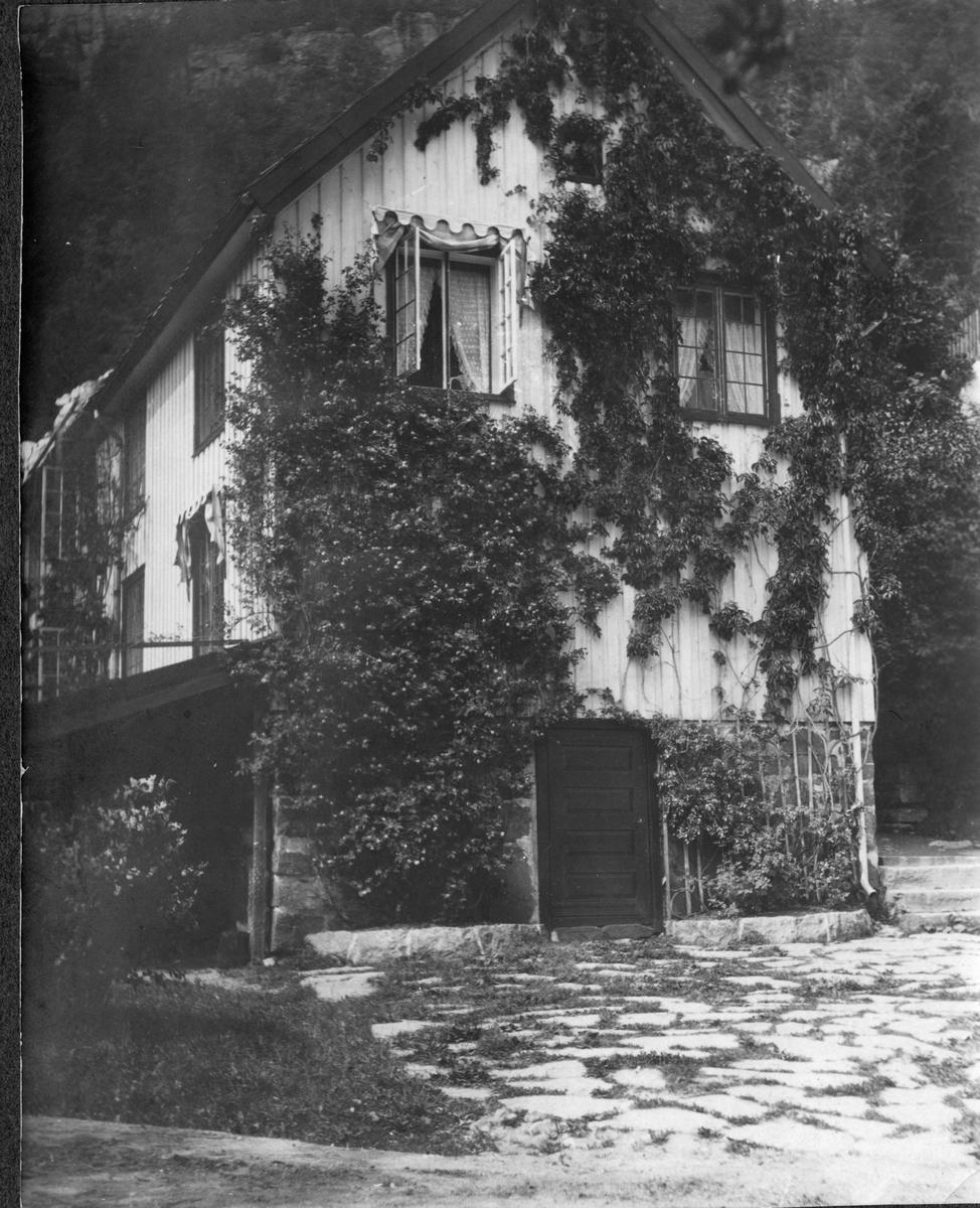 Bryggerhuset, sommer på Frøvik gård. ca. 1920 -30