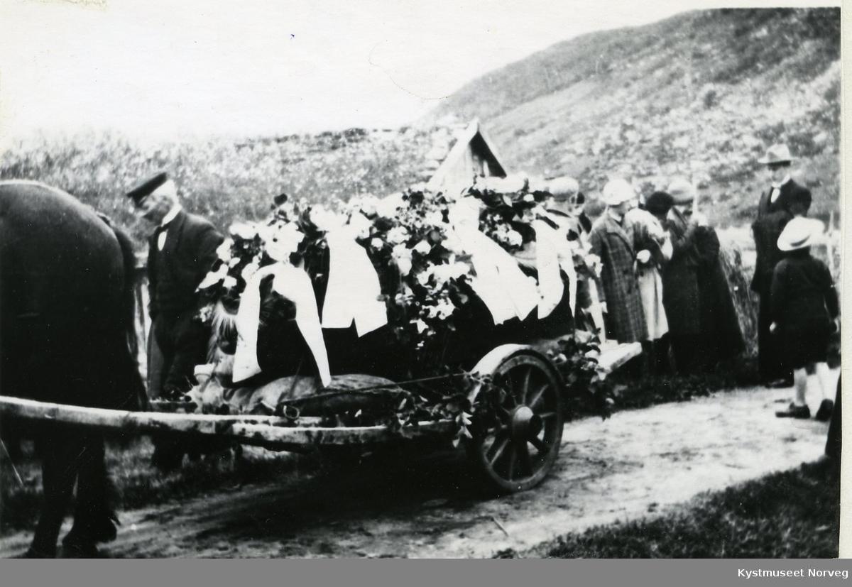 Rørvik, begravelsesfølge