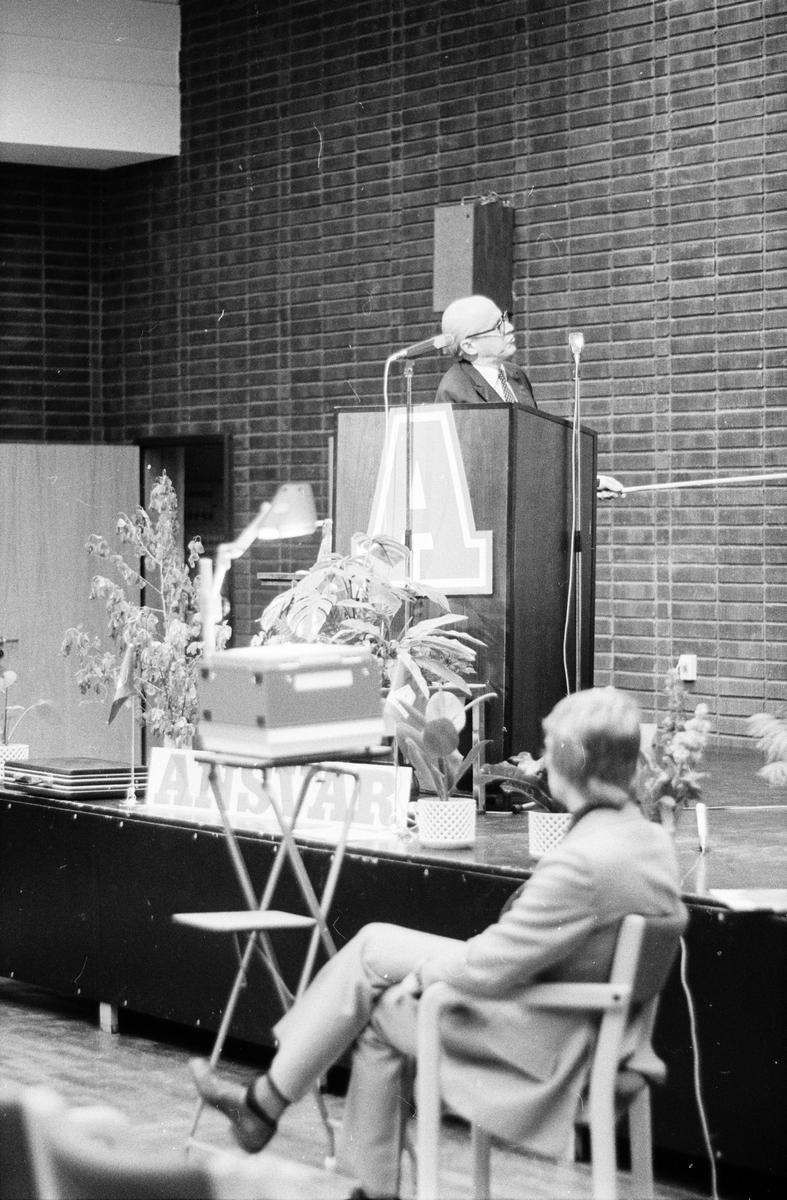 Bolagsstämma Ansvar, Uppsala, maj 1971