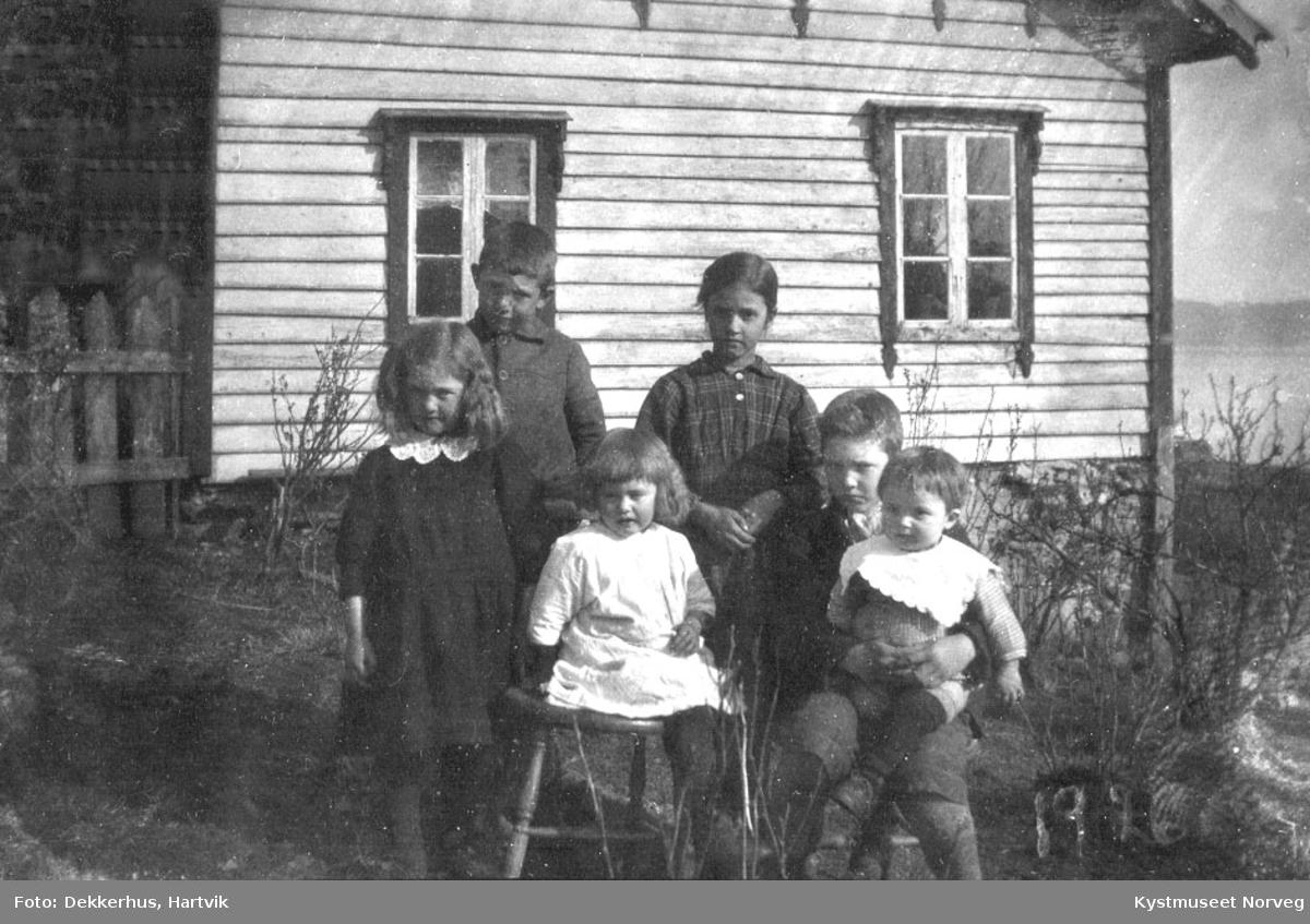 Julie og Gustav Staves barn