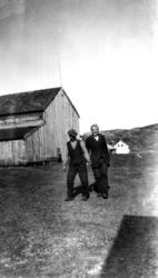 Hartvik Johansen og Edvin Gabrielsen