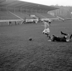 Fotbollsmatch mellan UIS och Svane
