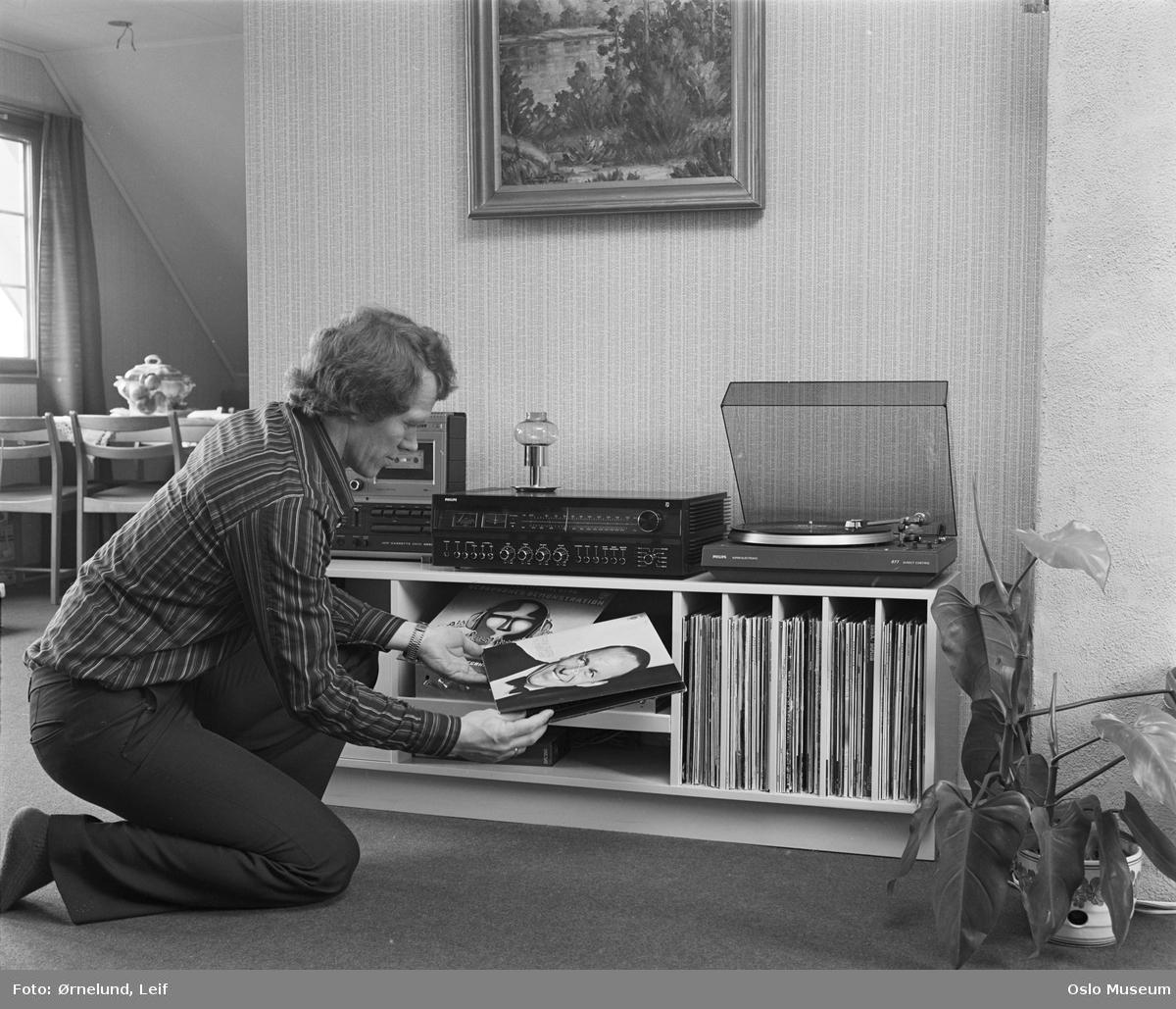 Ultra Philips stereoanlegg. - Oslo Museum / DigitaltMuseum JE-48