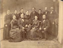 Fotografiet skal etter det Chr. Røhn Amundsen fortel vera ta