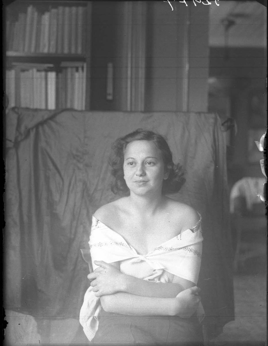 Portrett av Edith Rabinowitz