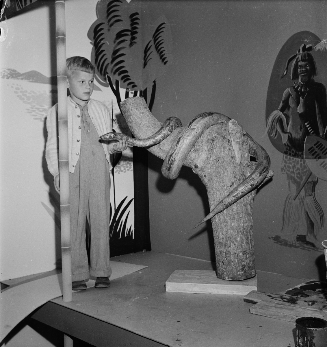 Svenska kyrkans missionsstyrelse - utställning, Uppsala 1949
