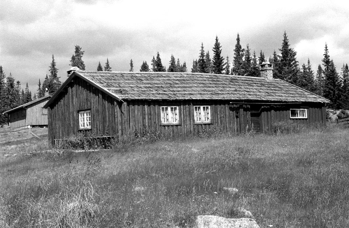 JEVANOL, BJØNNÅSEN i Furnes almenning, Ringsaker. Seterhus.
