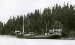 Ägare:/1962-70/: Alf Davidsson. Hemort: Fisketången. Byggd