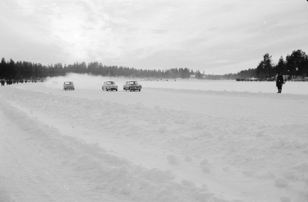 Billøp på Lisjøen 1963. Elverum.