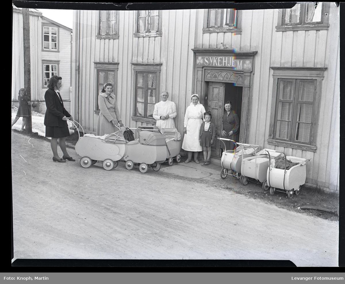 Småbarnsforeldre utenfor Steinkjer Sykeheim