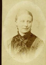 Caroline Magnine Homann, 1880.