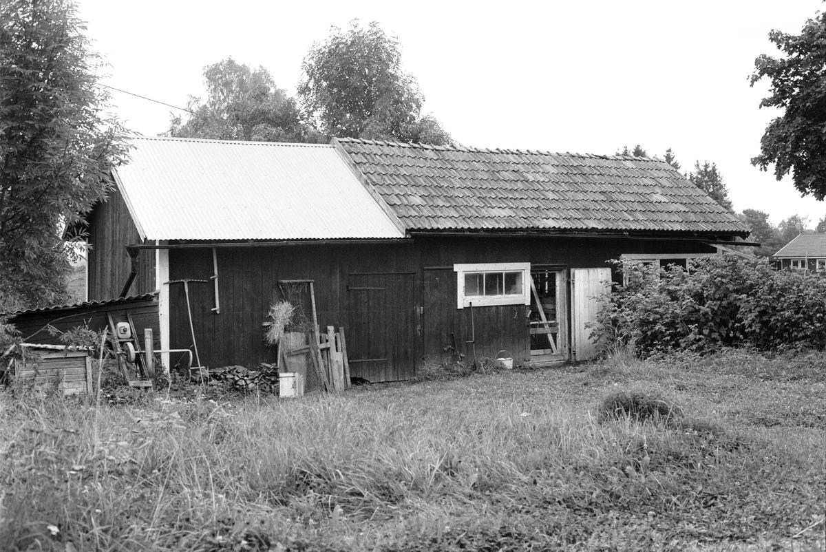 Bostadshus, Lilla Björndal, Björndal 1:2, Rasbokils socken, Uppland 1982