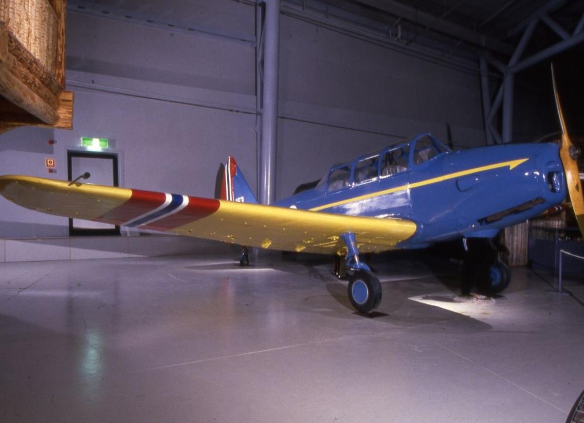 Ett fly: Fairchild PT-19 Cornell