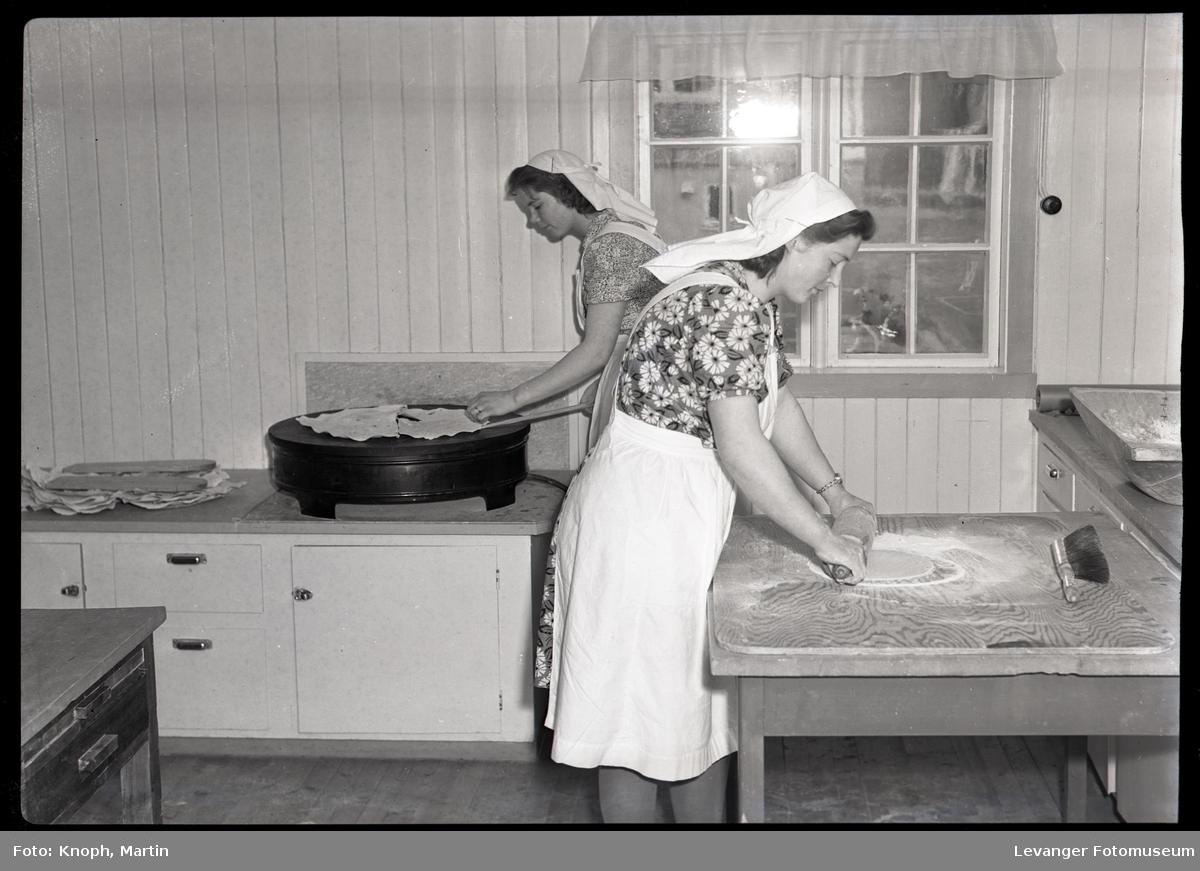 Husstellkurs på Vinje skole i Snåsa  I