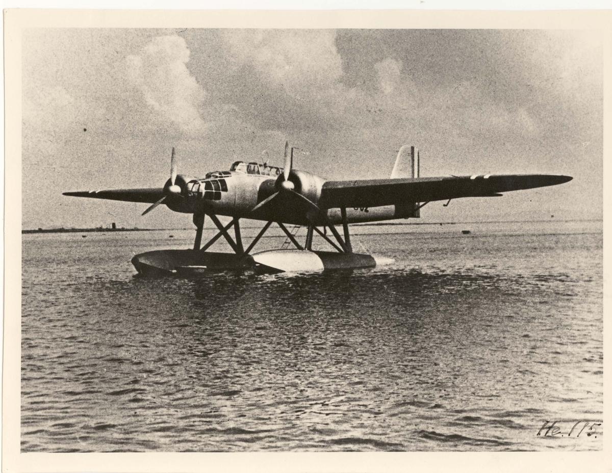 """Heinkel He 115 """"F 52""""."""