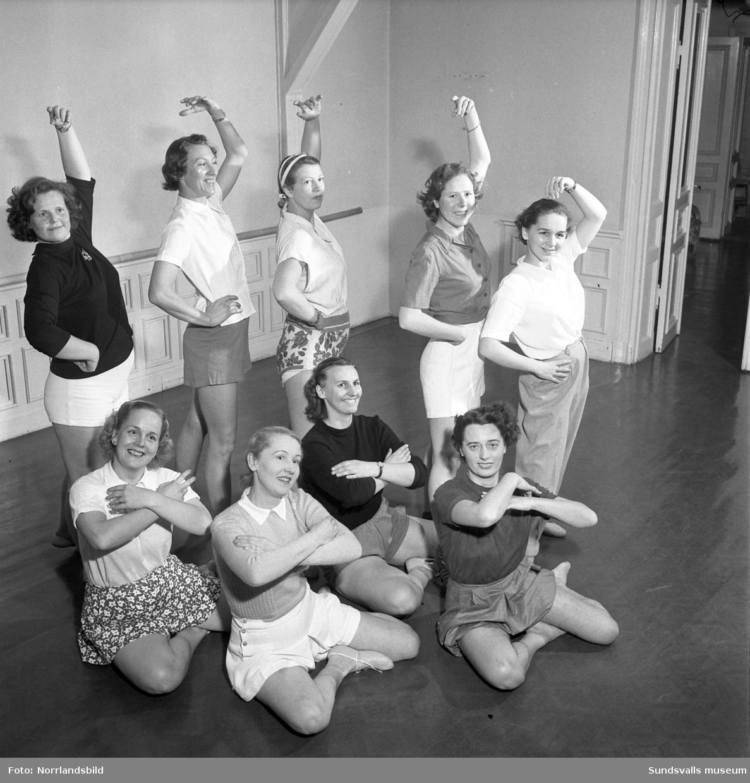 Ingalisa Erikssons dansskola på Storgatan 12.