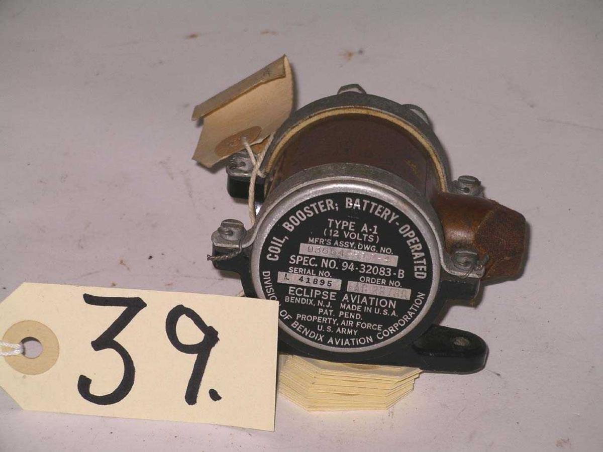Ser no L 41895. Produsert av Eclipe Aviation, Bendix, New Jersey, USA.  Division of Bendix Aviation Corporation.