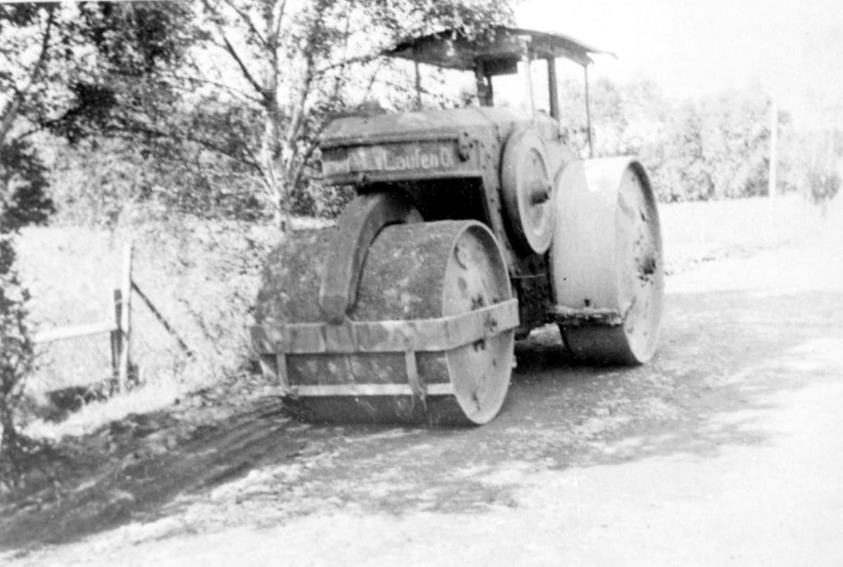Kjøretøy - dampveivals
