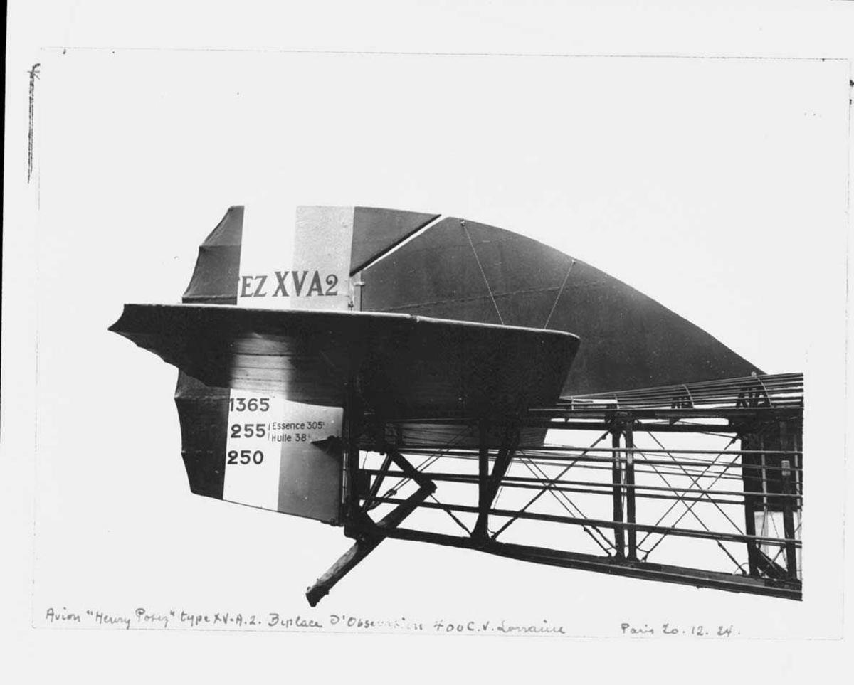 Halepartiet på ett fly, Potez XV A2