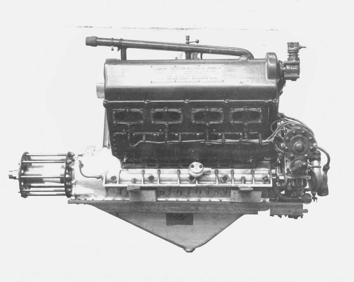 Flymotor. Sundbeam Arab II