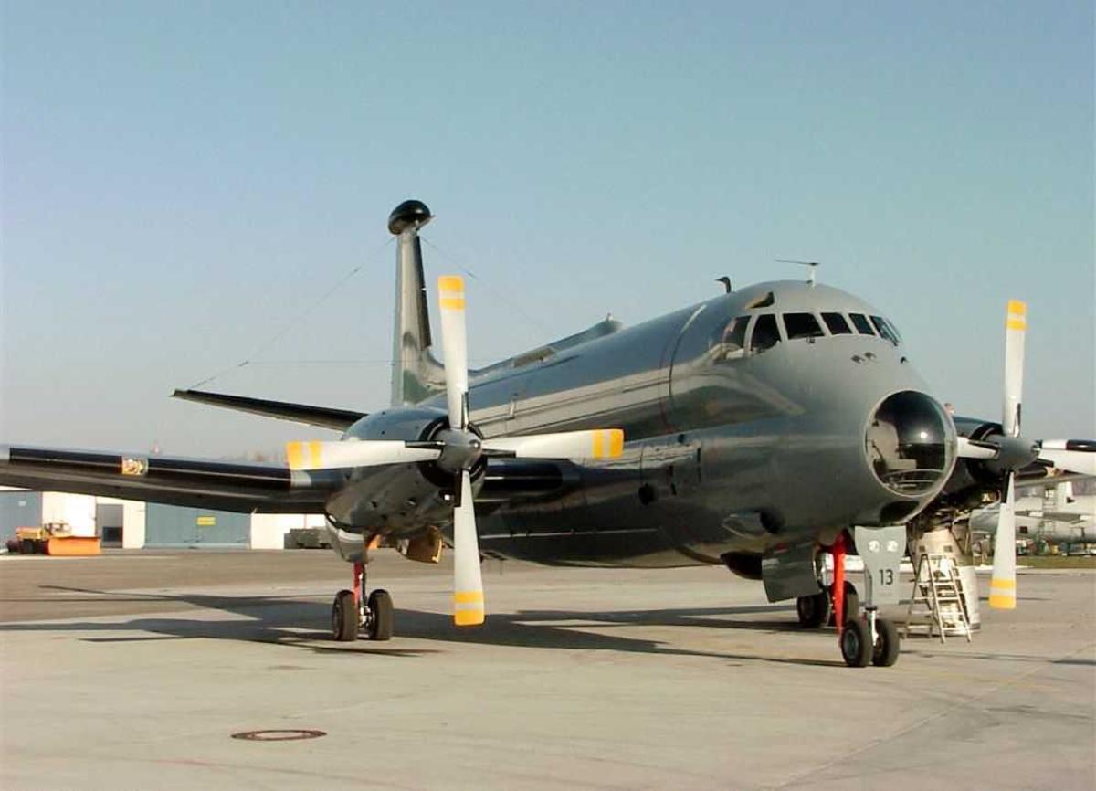 Ett fly på bakken, Breguet Br.1150 Atlantic 2