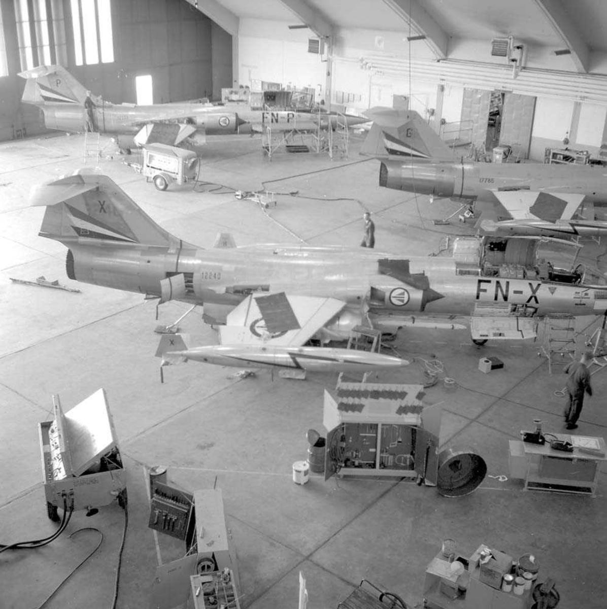 Hangar A, Bodø flystasjon.