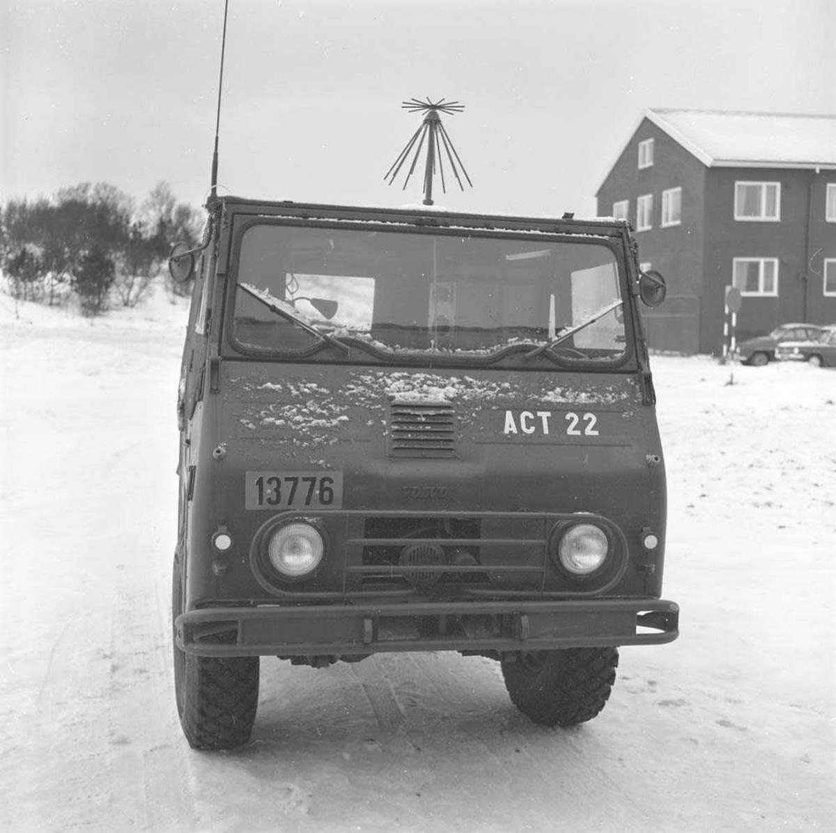 ACT-vogn - flykontroll-vogn på Bodø flystasjon.