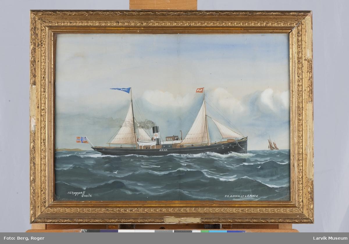 Dampskipet Anna av Larvik
